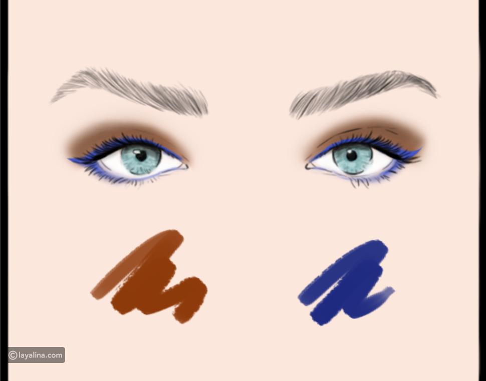 كيفية دمج ألوان ظلال العيون بطرق مذهلة