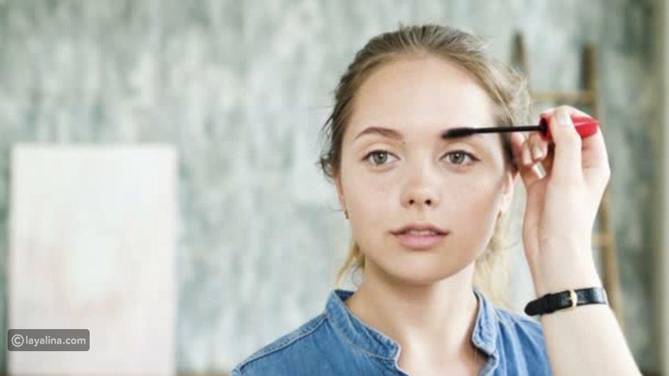 مكياج عيون المرأة العاملة
