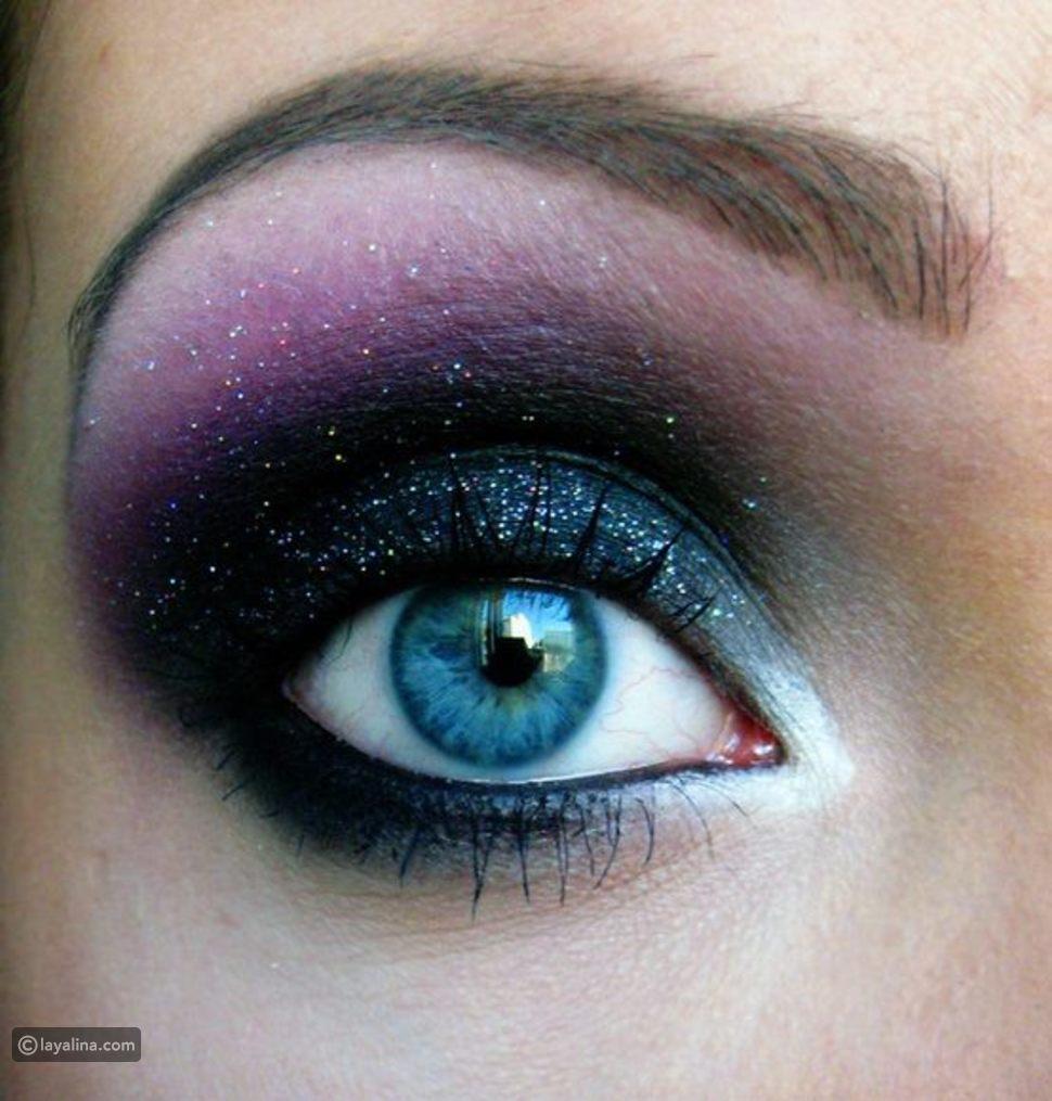 ظلال العيون المناسب للون العيون