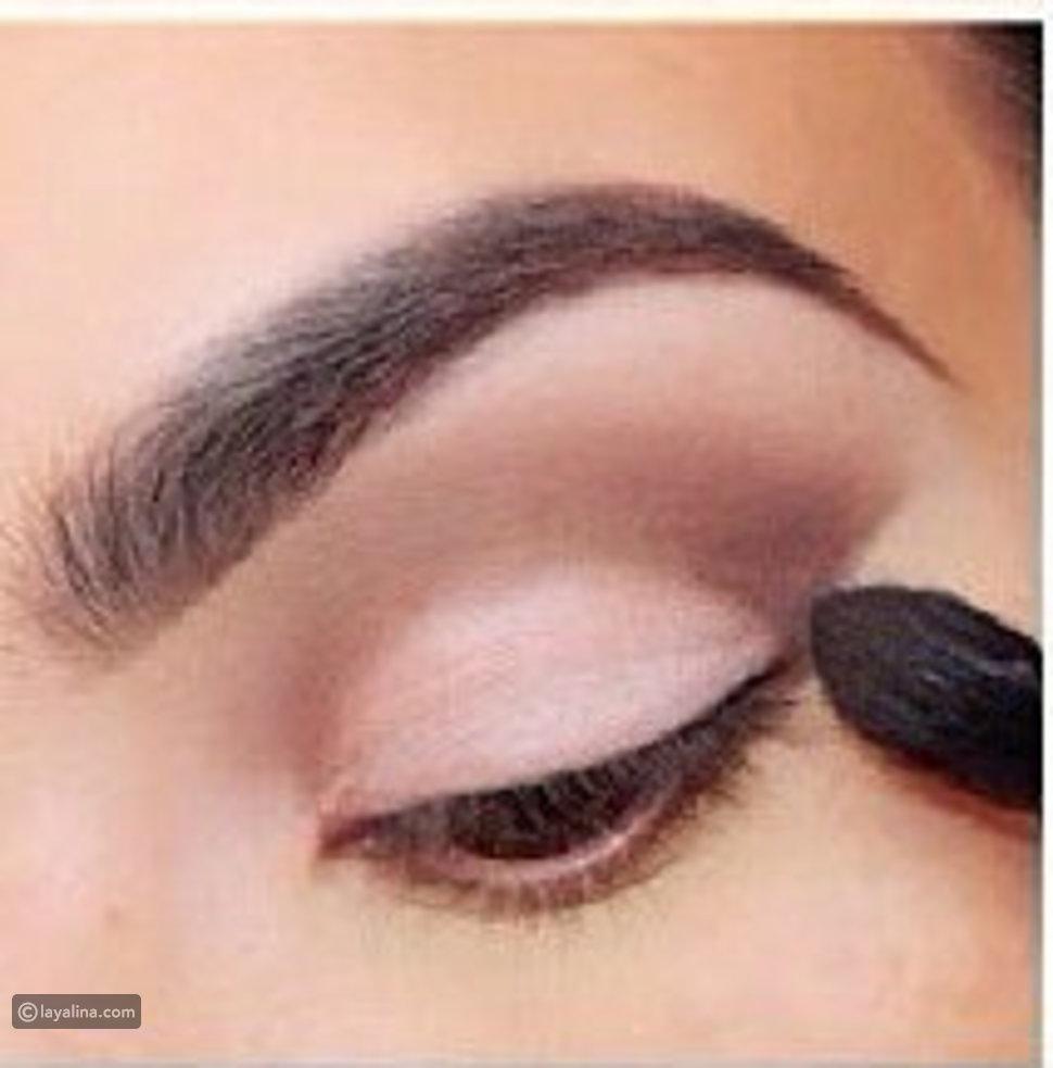 مكياج عيون كويتي