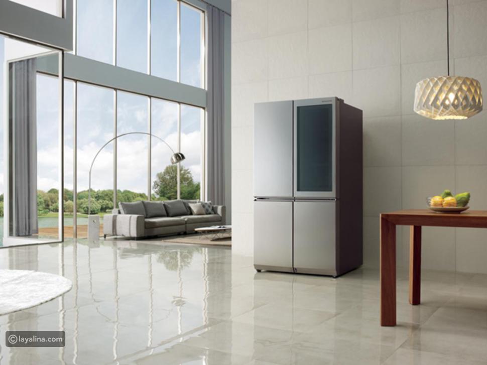 LG InstaView، فهي تقدم من خلال شاشتها اللمسية الشفافة من مقاس 29 بوصة