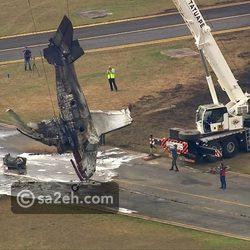 فيديو وصور: لحظة انفجار طائرة ركاب أثناء الهبوط.. مشهد مروع