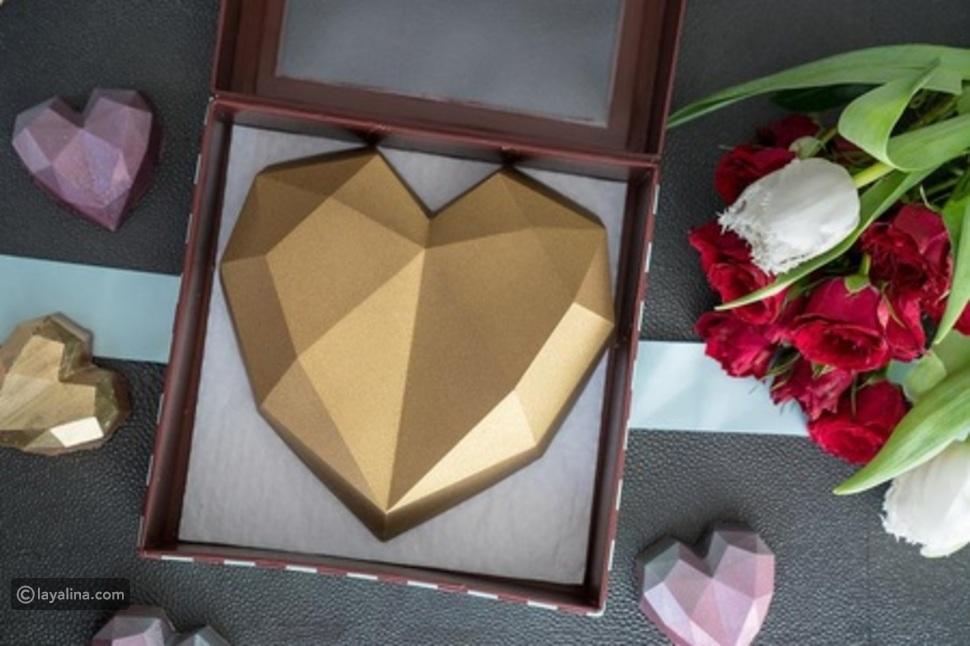 قلب نوتيلا