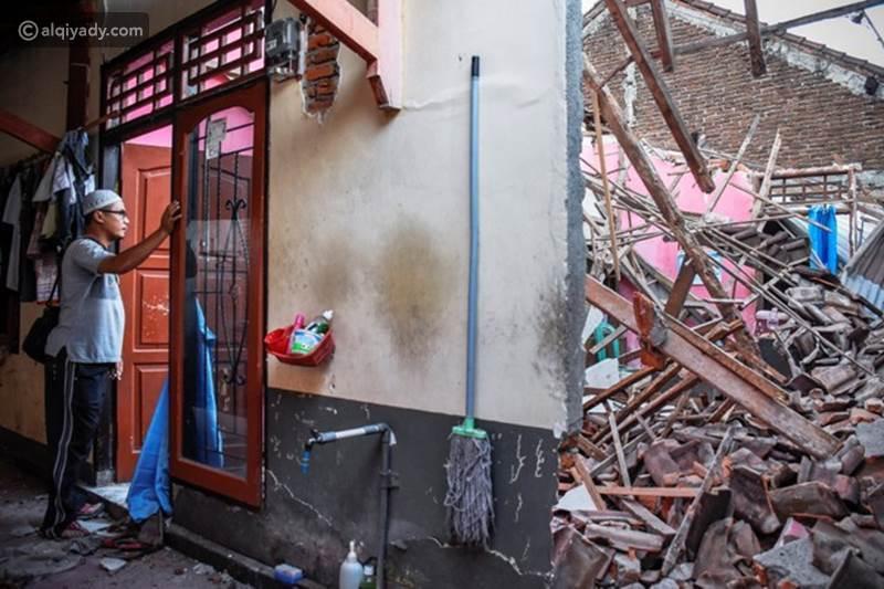 فيديو: ثبات إمام مسجد خلال زلزال إندونسيا.. رد فعل أذهل ملايين الناس